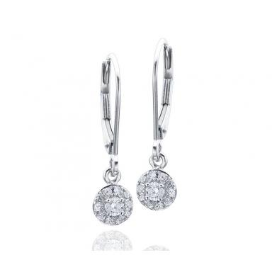 Glacier Fire Canadian Diamond 0.20CTW Earrings